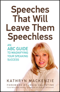 Speedhes that Will Leave Them Speechless by Kathryn Mackenzie