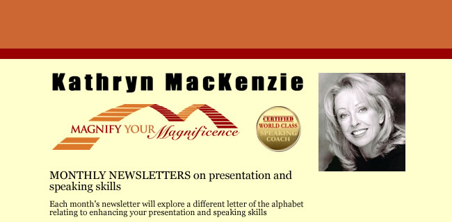 Kathryn Mackenzie, Magnify Your Magnificence